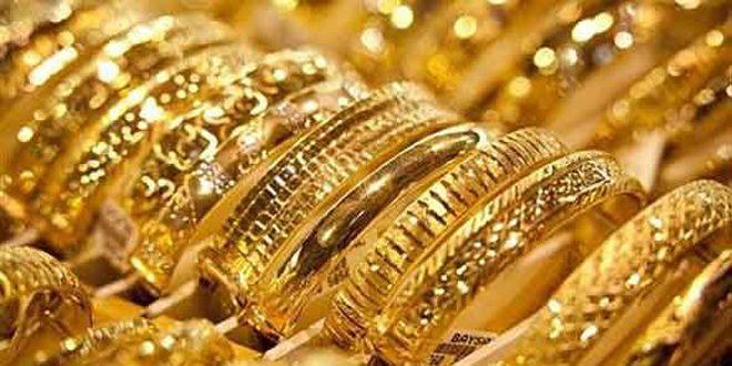 أسعار الذهب تنخفض قليلا