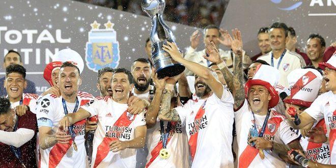 ريفر بليت يتوج بكأس الأرجنتين للمرة الثالثة في تاريخه