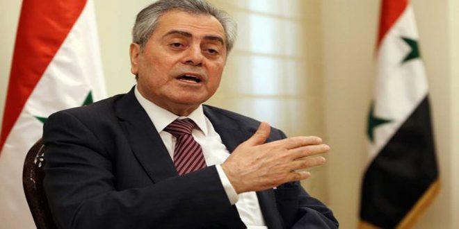 السفير عبد الكريم يستعرض مع وفد لبناني الأوضاع في سورية والمنطقة