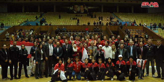 منتخب سورية لكرة السلة يحرز لقب بطولة غرب آسيا للسيدات تحت 16 عاماً