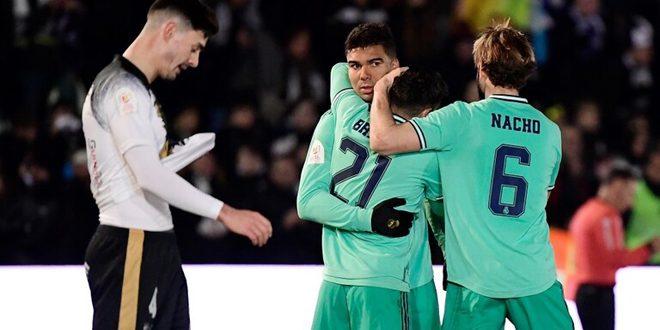 ريال مدريد يتغلب على أونيونستاس بثلاثية في كأس ملك إسبانيا