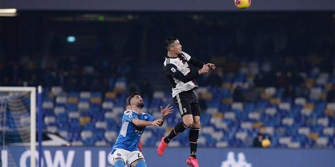 فوز نابولي على يوفنتوس في الدوري الإيطالي لكرة القدم