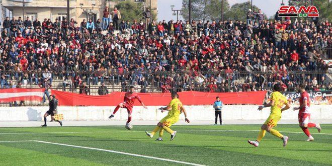 الاتحاد وتشرين يتعادلان في قمة مباريات الجولة الـ12 من الدوري الممتاز لكرة القدم