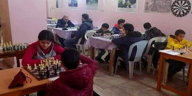اختتام بطولة المراكز التدريبية للشطرنج في الحسكة