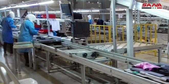 137 منشاة صناعية وحرفية دخلت حيز الإنتاج في درعا خلال العام الماضي