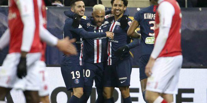 باريس سان جيرمان يبلغ نهائي كأس رابطة الأندية الفرنسية