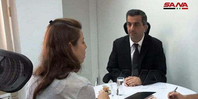 رئيسة شبكة تيليسور الإخبارية: واثقون بانتصار سورية