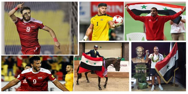 استفتاء لجنة الصحفيين الرياضيين: غزال أفضل رياضي في سورية والسومة أفضل لاعب كرة قدم