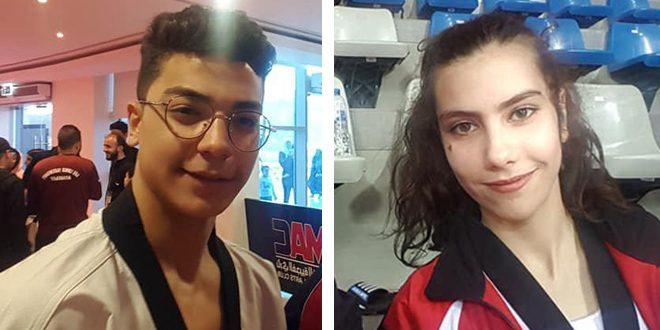 فضية وبرونزية لمنتخب سورية للتايكوندو في بطولة العرب