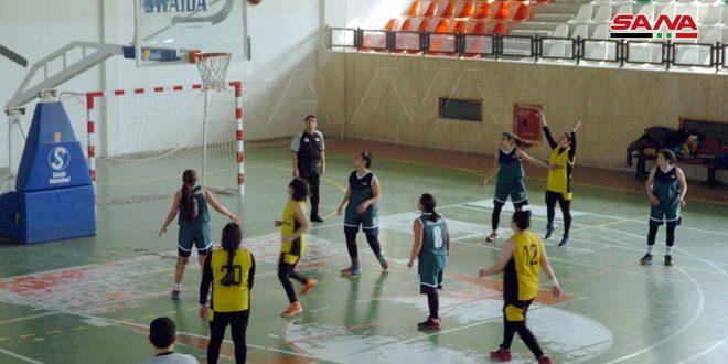فريق جرمانا يفوز على العربي في دوري كرة السلة للسيدات