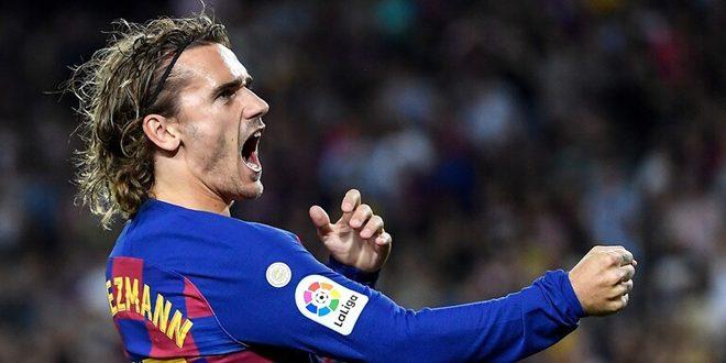غريزمان ينقذ برشلونة من مفاجأة إيبيزا