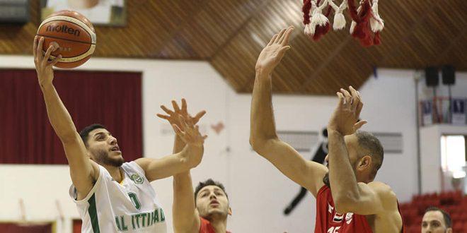فريق الوثبة يخسر أمام الاتحاد السكندري في بطولة دبي الدولية لكرة السلة