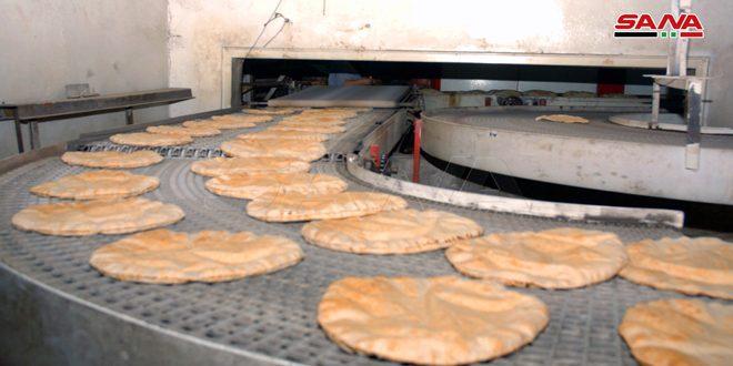 السورية للمخابز: إحداث وتأهيل نحو 50 مخبزاً لزيادة الإنتاج وتخفيف الهدر