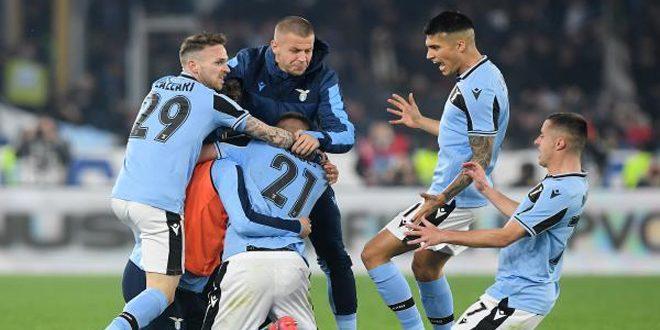 لاتسيو يفوز على إنتر ميلان في الدوري الإيطالي