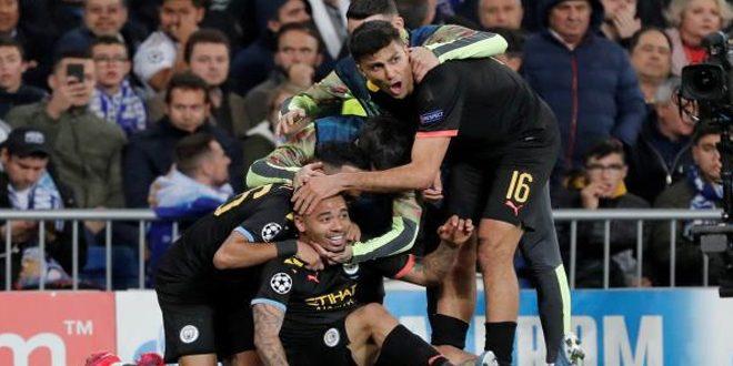 مانشستر سيتي يقسو على ريال مدريد وخسارة يوفنتوس أمام ليون