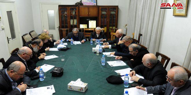 لجنة دعم الشعب الفلسطيني: ندعم الجيش السوري في وجه جميع أشكال الاحتلال والإرهاب