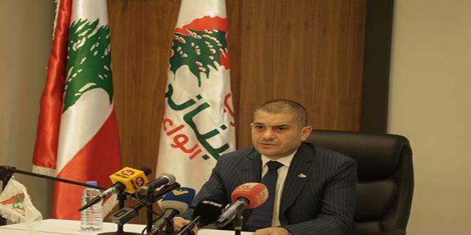 الحزب اللبناني الواعد: سورية ستنتصر على الإرهاب وداعميه