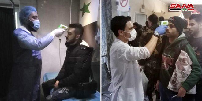 إحداث نقطة طبية في مطار القامشلي الدولي للتقصي عن أي حالة إصابة بفيروس كورونا