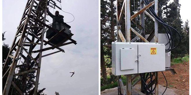 تركيب مراكز تحويل كهربائي جديدة في حمص وصيانة مراكز التحويل والشبكات في حماة
