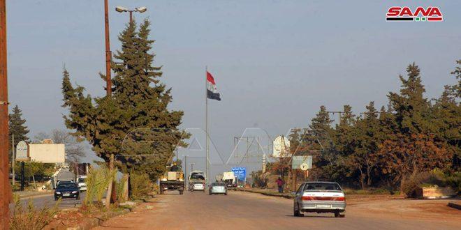 إعادة الطريق الدولي دمشق-حلب للخدمة يسهم بتوفير الوقت وتخفيف العبء المادي عن المسافرين وشركات النقل في حمص وحماة