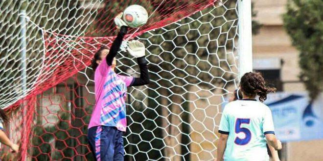 خزامى الملحم: نيلي لقب أفضل حارسة مرمى في الدوري زاد من عزيمتي على تطوير موهبتي