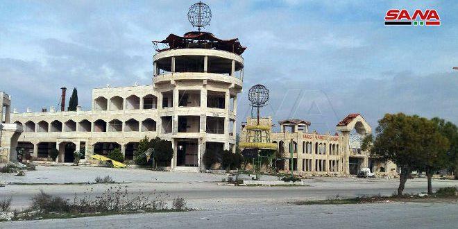 سياحة إدلب تجرد المنشآت السياحية المتضررة من الإرهاب على طريق حلب دمشق ومحور حلب إعزاز