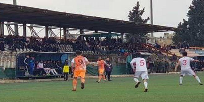 شرطة حماة يتغلب على مورك في دوري الدرجة الأولى بكرة القدم