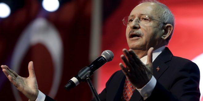 كليتشدار أوغلو: سياسات أردوغان فاشلة وخطيرة تجاه سورية