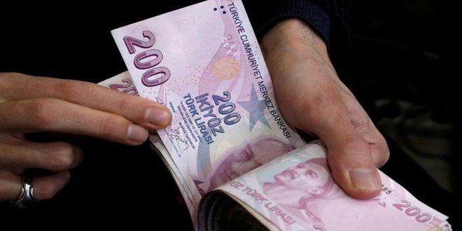 الليرة التركية تهبط لأدنى مستوياتها في 17 شهراً