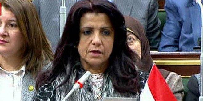 برلمانية مصرية: الحصار الاقتصادي على سورية يتعارض مع المفاهيم الإنسانية