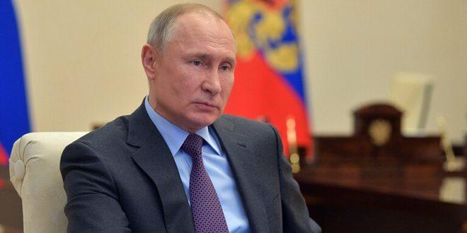 بوتين: موسكو مستعدة للتعاون مع واشنطن لإرساء استقرار سوق الطاقة