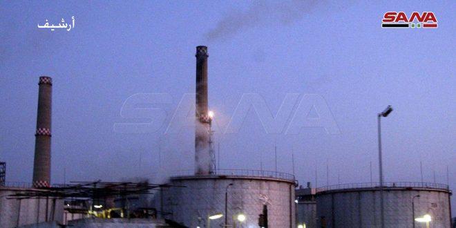 إصابة 4 عمال بحروق وإصابات طفيفة نتيجة حريق في وحدة تحسين البنزين بمصفاة بانياس