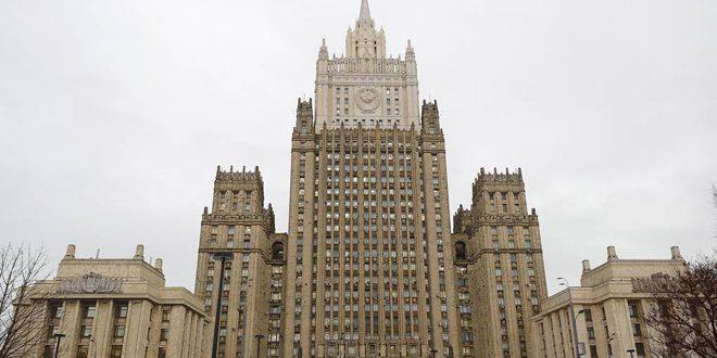مباحثات روسية إيرانية حول الحل السياسي للأزمة في سورية والمساعدة الإنسانية لمكافحة فيروس كورونا