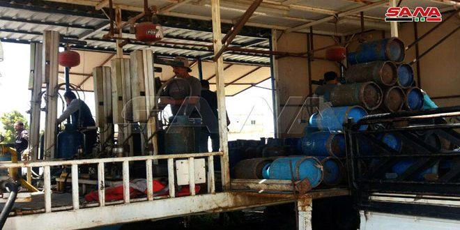 تلبية لاحتياجات المواطنين وحدة تعبئة الغاز المنزلي بالقنيطرة تعمل بطاقة إنتاجية ألف أسطوانة يومياً