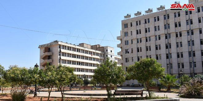 المدينة الجامعية بدمشق جاهزة لاستقبال الطلاب اعتباراً من يوم غد