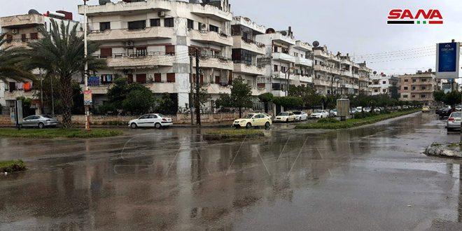 أمطار في عدد من المحافظات أغزرها 35 مم في حلب