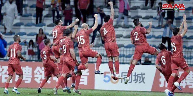 منتخبنا الأول بكرة القدم أمام فرصة جيدة للتحضير بعد إعلان مواعيد استكمال تصفيات آسيا وكأس العالم