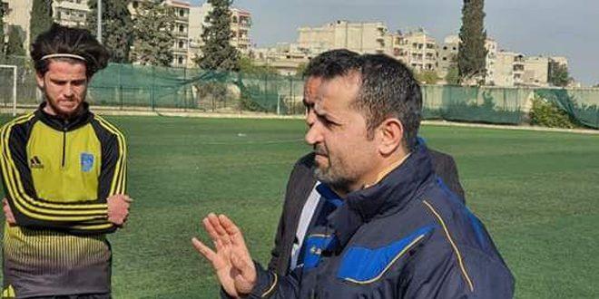 ياسر البني مدرباً جديداً لفريق رجال الطليعة بكرة القدم