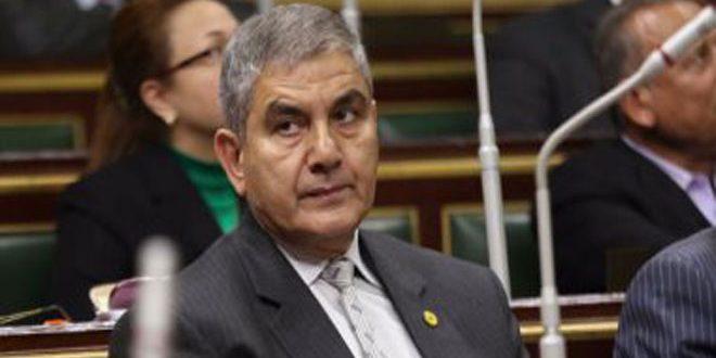 برلماني مصري: الإجراءات الاقتصادية الغربية القسرية ضد سورية تعسفية