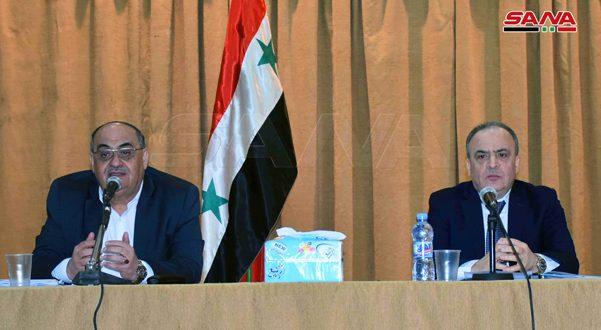 تبدأ من منطقة الغاب… المهندس خميس يطلق مشروع الاستراتيجية الوطنية للتنمية الزراعية في سورية