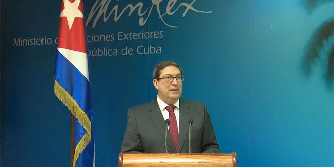 كوبا تدين الإجراءات القسرية الأمريكية ضد سورية: انتهاك صارخ للقانون الدولي وحقوق الإنسان