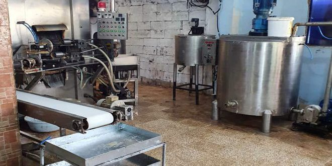 ضبط معمل مخالف لإنتاج أغذية الأطفال في طرطوس