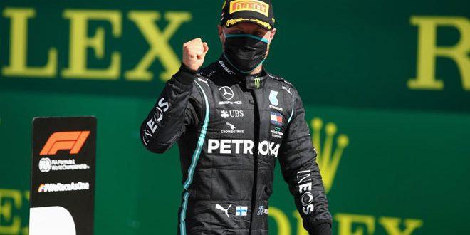 الفنلندي بوتاس يفوز بجائزة النمسا الكبرى لـ الفورمولا 1