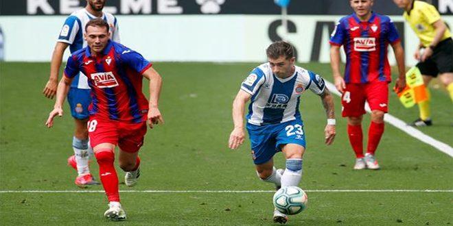 إيبار يفوز على إسبانيول في الدوري الإسباني