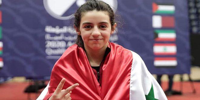 ظاظا: تأهلي للأولمبياد بداية تحقيق الحلم الأكبر برفع علم سورية في طوكيو