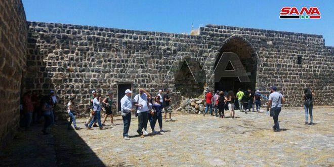 جولة للأدلاء السياحيين إلى المعالم السياحية والتاريخية في القنيطرة