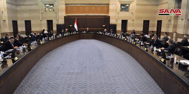 مجلس الوزراء: منح السورية للتجارة سلفتين ماليتين لتوريد الشاي والرز ورصد الاعتمادات اللازمة في موازنة العام القادم لتحسين متممات الرواتب