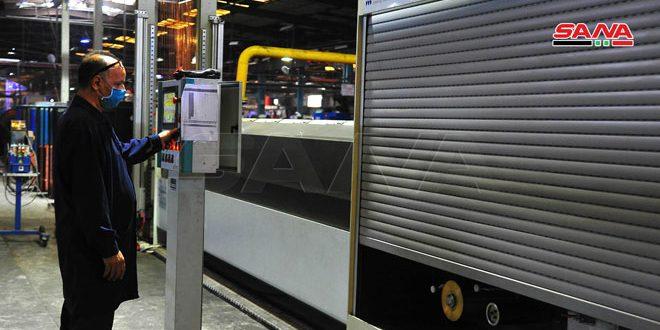 كابلات حوش بلاس.. آلات حديثة دخلت الإنتاج وأرباح تجاوزت 3 مليارات ليرة بحصة سوقية تصل لـ 60%