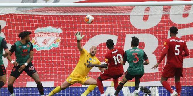 ليفربول يفوز على أستون فيلا في الدوري الإنكليزي
