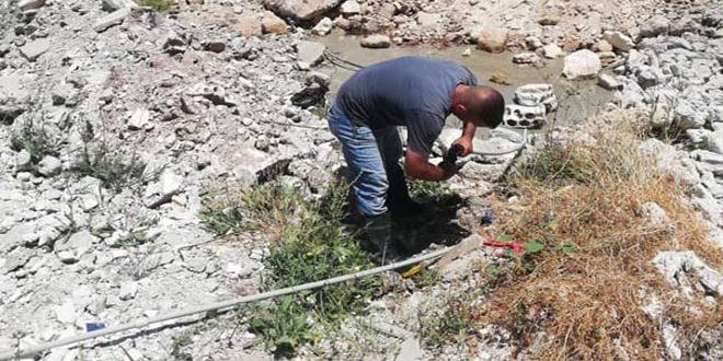 اللاذقية.. تنظيم 737 مخالفة وسحب نحو 1700 عداد ومضخة مياه خلال 6 أشهر